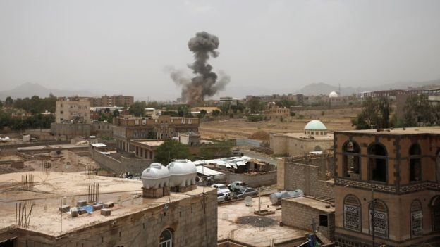 Yemen rebels say Saudi coalition airstrike in north kills 50