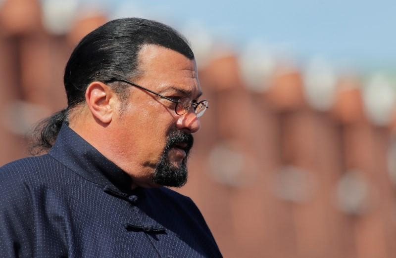 Prosecutors review sex assault cases against Seagal, Anderson