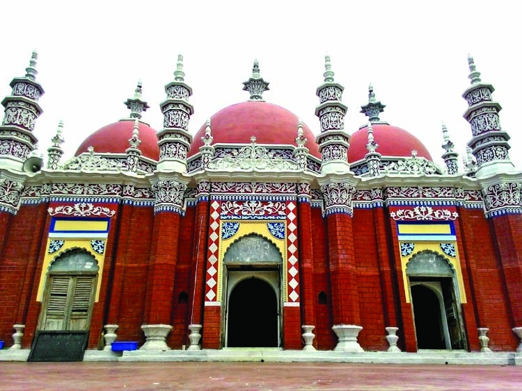 Historical mosque in Barisal