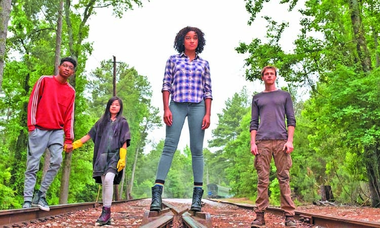 A new young adult series with a diverse cast