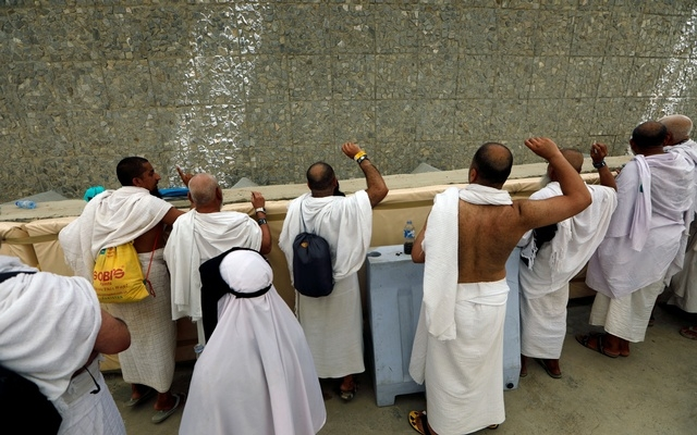 Hajj pilgrims stone the devil
