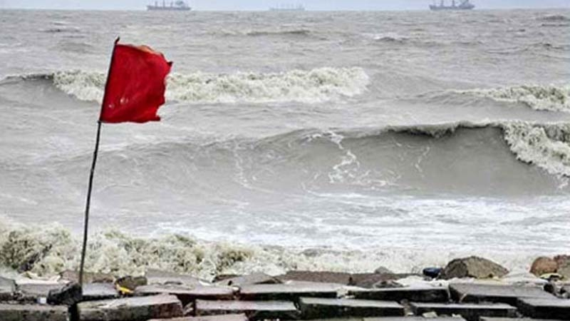 Maritime ports asked to hoist signal no 3