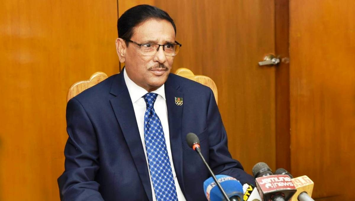 Quader digs at BNP for seeking trial of grenade attack
