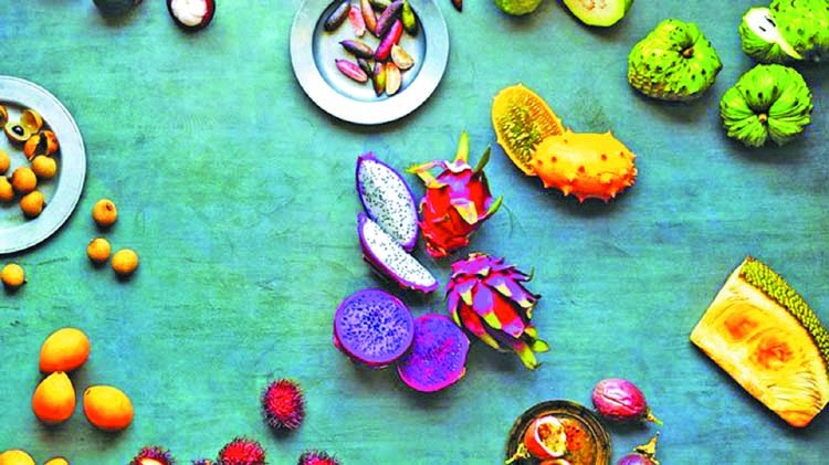 Embrace the exotic with these funky fruits