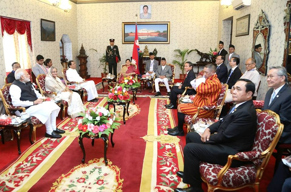 PM Hasina, BIMSTEC leaders call on Nepal President