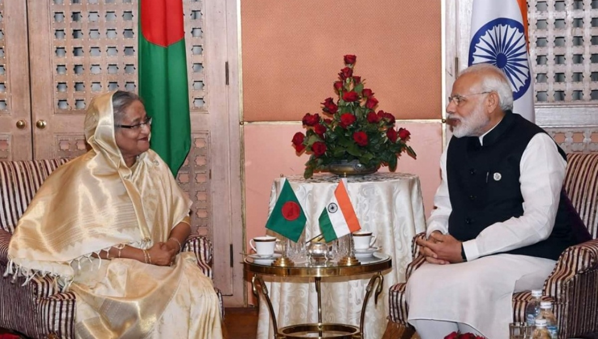 Hasina, Modi agree to work together for people of BD, India