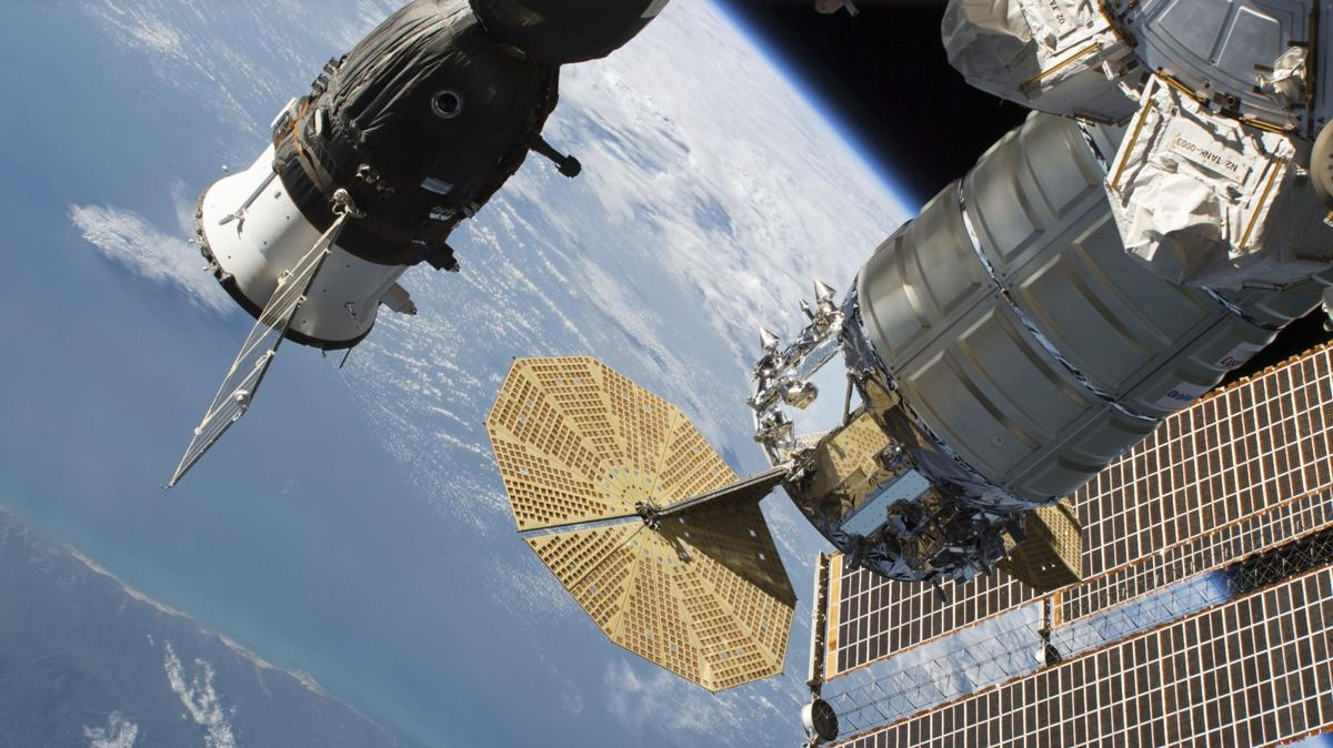 Astronauts tackle leak on International Space Station