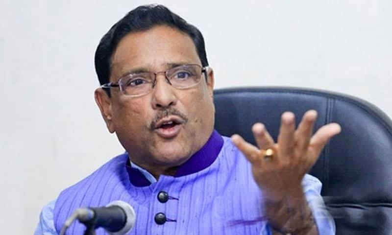 Quader shrugs off BNP's movement threat