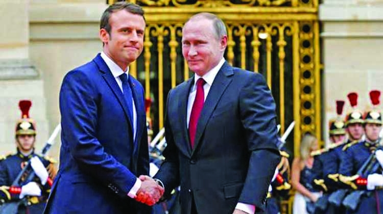 Macron and Putin deal difficult but necessary