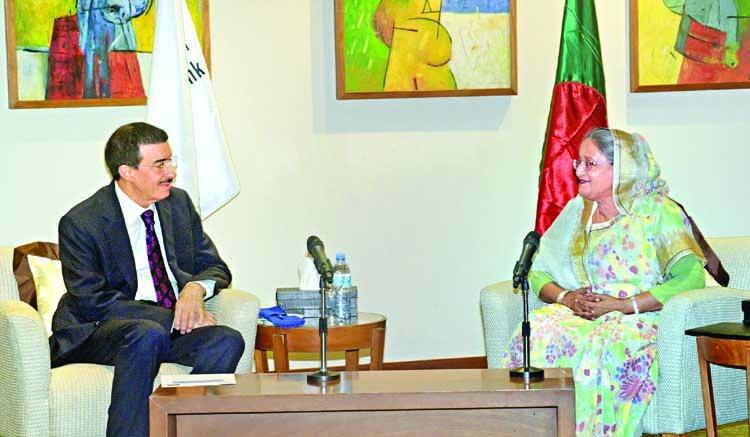 IsDB president will continue support to Bangladesh