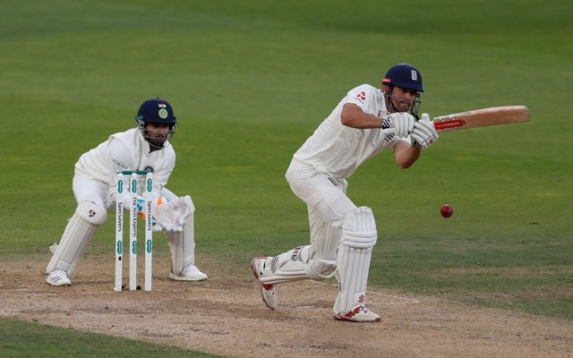 Cook's farewell knock helps England seize control over India