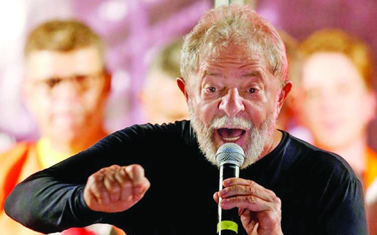 Jailed Lula to bow out of presidential race of Brazil