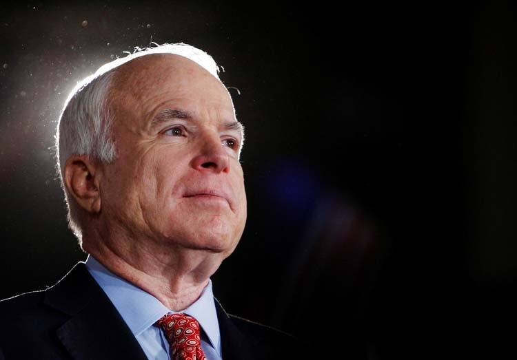 John McCain: 'A patriot of the highest order'