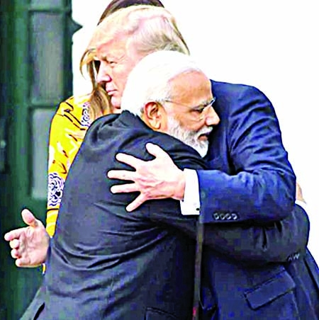 PM Modi a 'friend', Donald Trump quoted