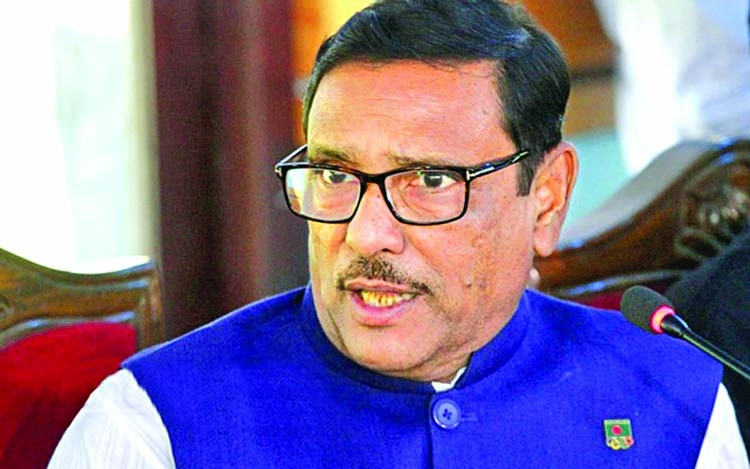 Polls-time govt in mid-Oct, says Obaidul Quader