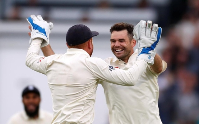 Anderson provides fitting climax as England beat India to win Test series 4-1