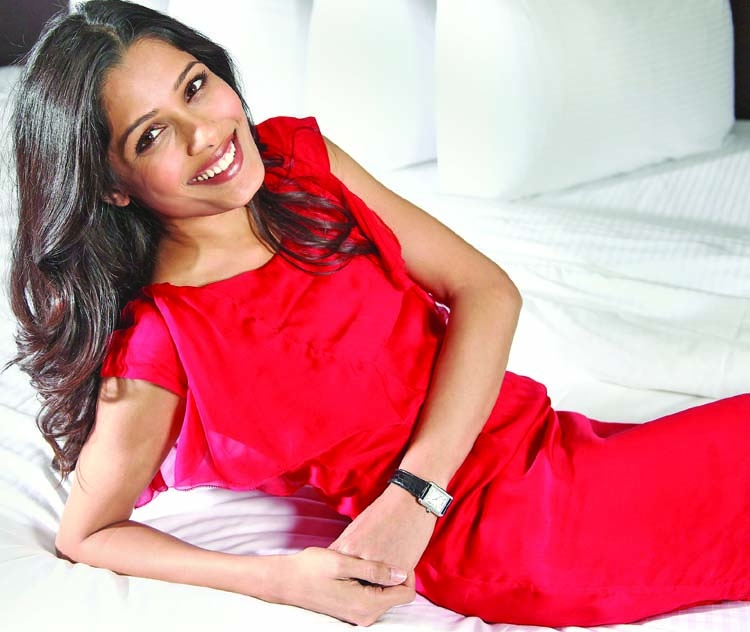 I'm not lost anymore: Freida Pinto