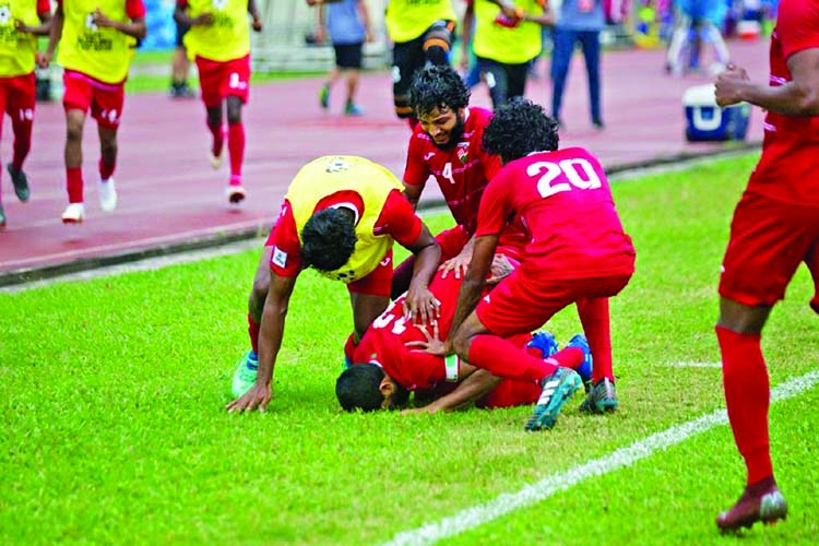 Maldives reach SAFF final thrashing Nepal