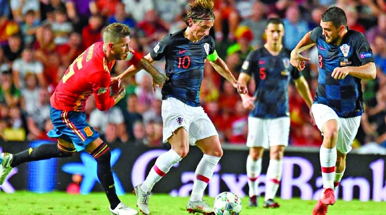 Spain humiliate Croatia in UEFA Nations League
