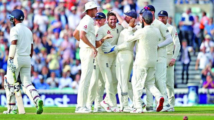 England wrap up 4-1 win against India