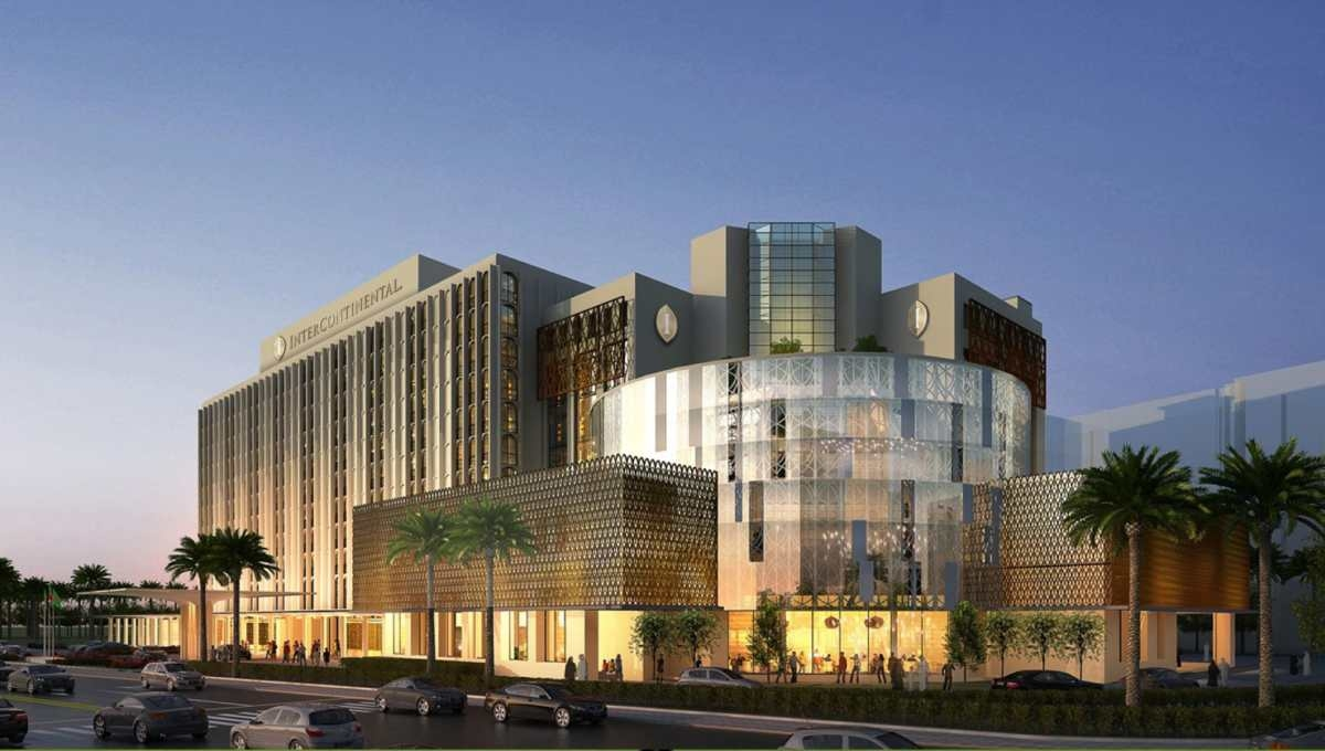 PM opens hotel InterContinental Dhaka