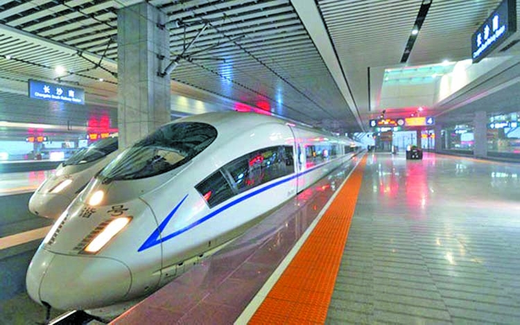 Kunming-Kolkata bullet train service via BD on cards