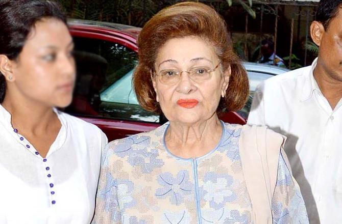 Raj Kapoor's wife Krishna Raj Kapoor dies at 88