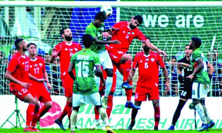 Bangladesh exit from Bangabandhu Gold Cup