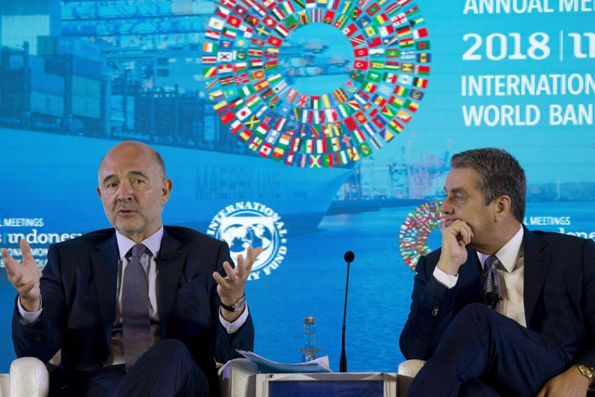 World Bank, IMF heads urge US, China to play by trade rules