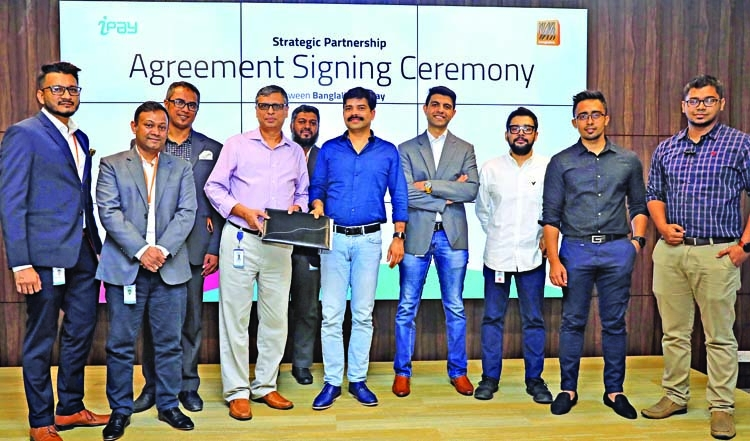 iPay signs agreement with Banglalink