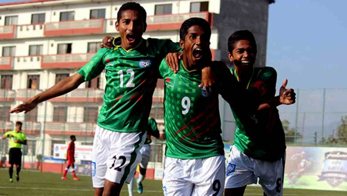 Bangladesh reach SAFF U-15 final
