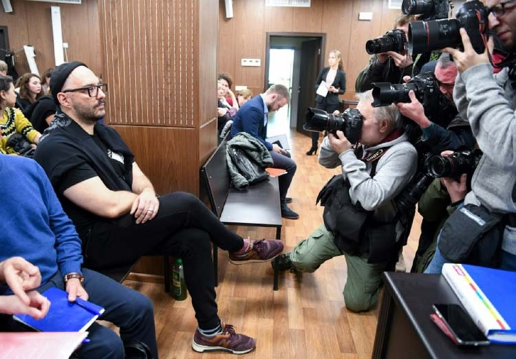 'Never stole anything at Moscow trial'