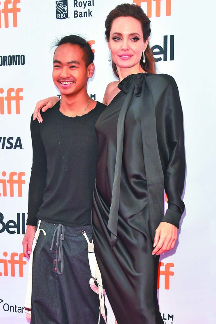 Angelina Jolie proud of son Maddox | The Asian Age Online
