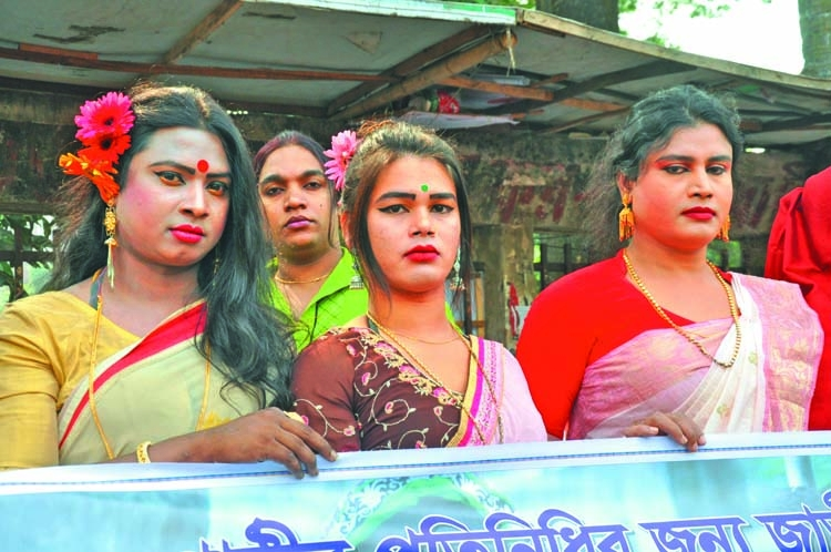 Hijras demand reserve seat in Parliament
