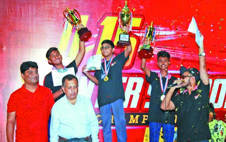 Sharif Rahman wins Inter School Kart Racing Championship