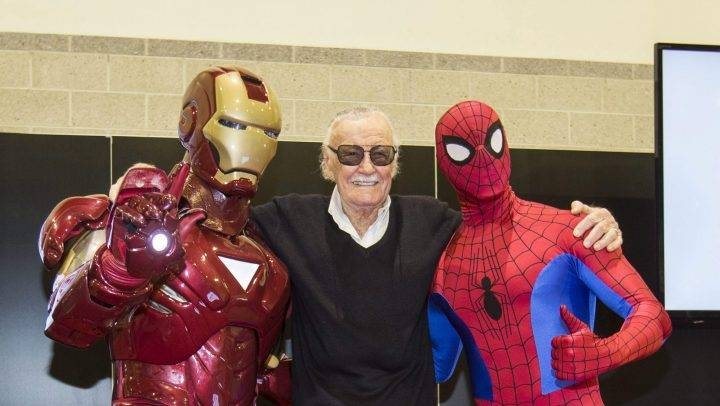Stan Lee, creator of Spider-Man and other Marvel superheroes