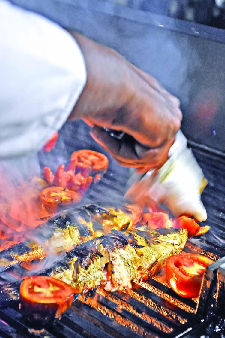 Australian, American, Moroccan & Bengali style barbecue at Amari Dhaka