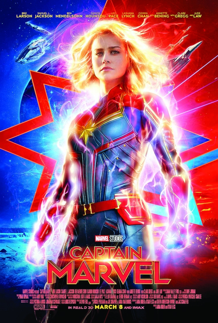 New poster of 'Captain Marvel' released