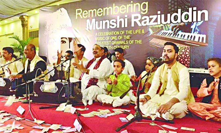 Ustad Munshi Raisuddin remembered