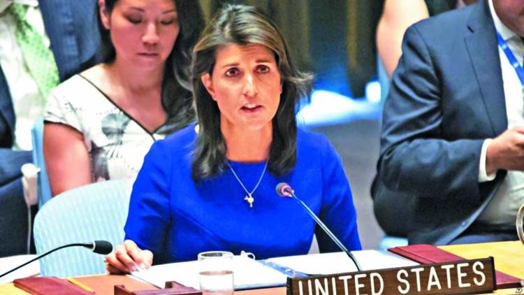 UN to vote on Nikki Haley's last stand