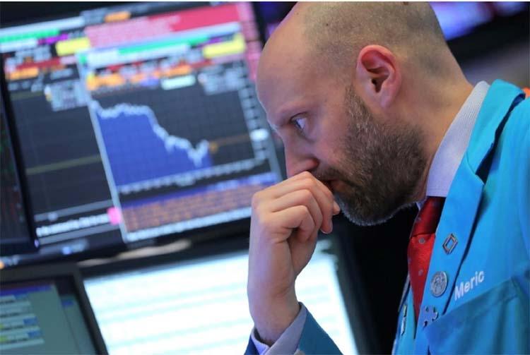 European stocks slump to two-year low