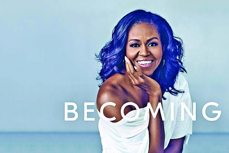 Former first lady claims her story in 'Becoming'