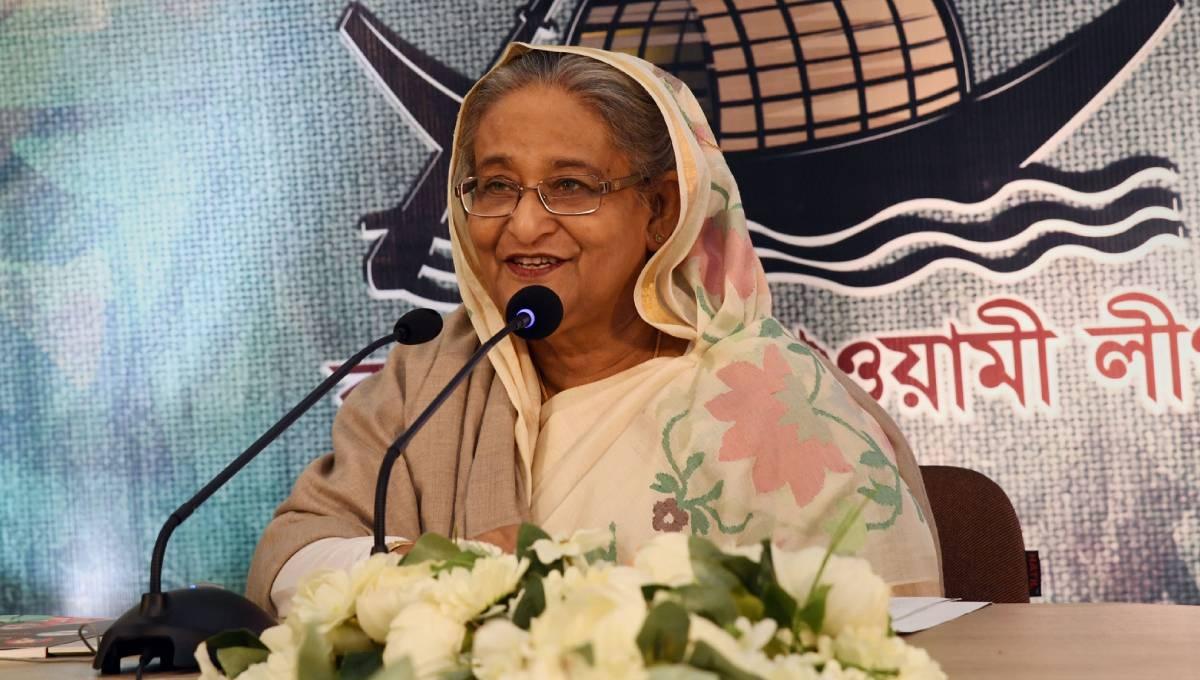 Hasina unveils AL manifesto