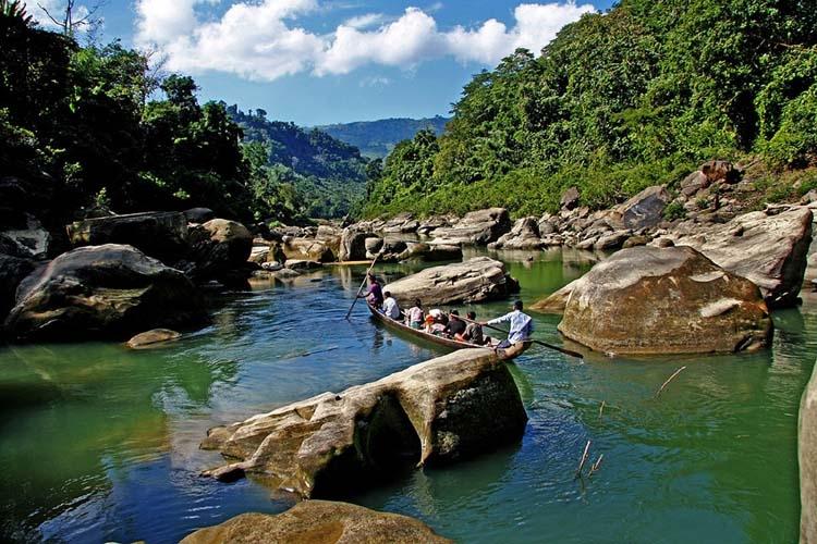 Sangu River : Natural beauty of Bandarban