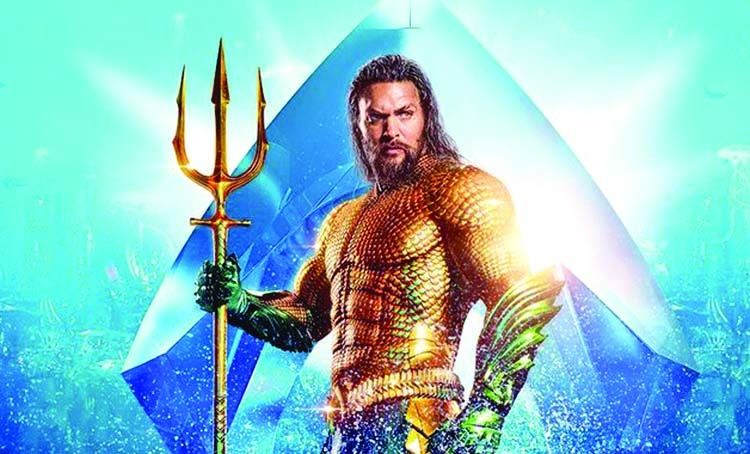 Jason Momoa keeps Aquaman afloat