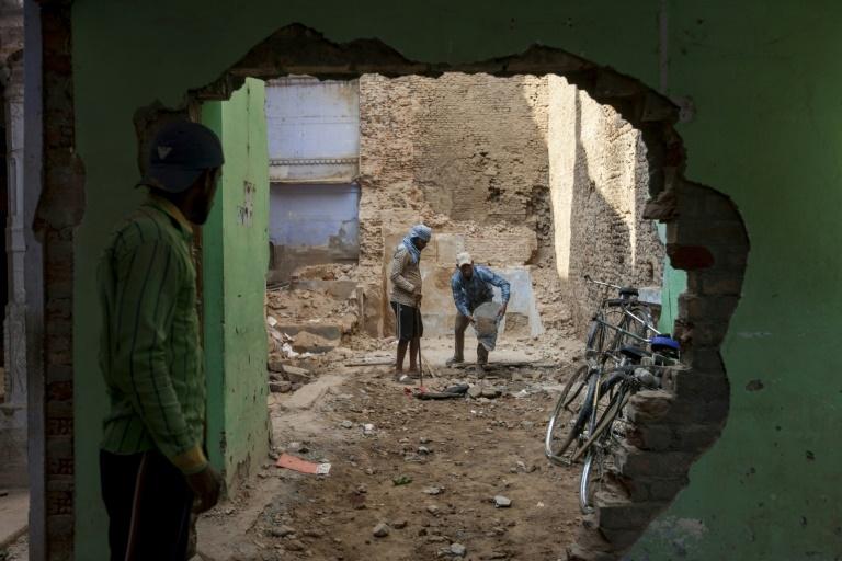 Varanasi's temple corridor destroys old neighbourhood
