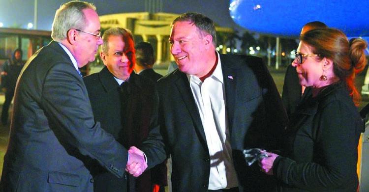 Pompeo meets Sisi