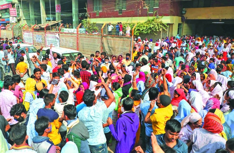 RMG workers' unrest continues