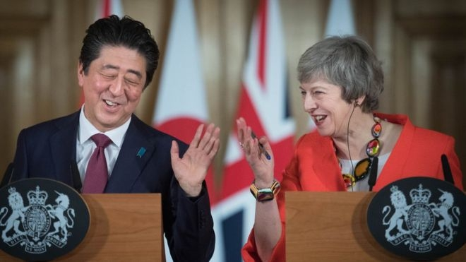 Japan PM: World against no-deal Brexit