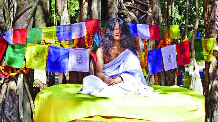 Police raid 'Buddha boy' ashram in Nepal